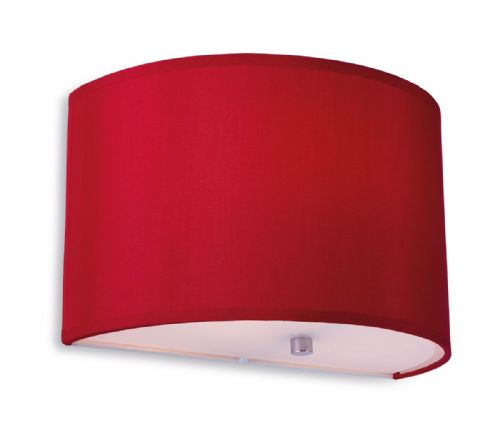Firstlight 8631REWH Red with White Inside Zeta Wall Light